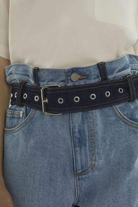 3.1 Phillip Lim Belted Paper Bag-Waist Short