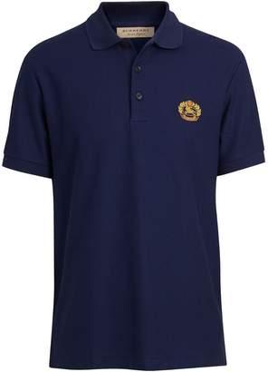 fcdd4f483bbc Burberry Archive Logo Cotton Piqué Polo Shirt