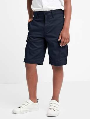 Uniform action stretch cargo shorts $29.95 thestylecure.com