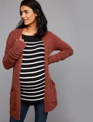 A Pea in the Pod Luxe Essentials Cuffed Maternity Sweater