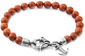 ANCHOR & CREW - Red Jasper Port Natural Stone Bracelet