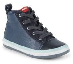 Camper Little Boy's Padded Collar Leather Sneakers