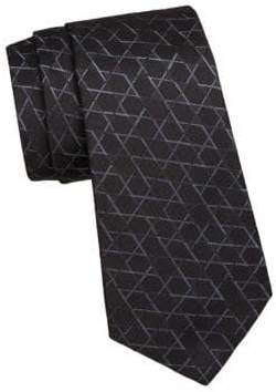 Giorgio Armani Star Pattern Silk Tie
