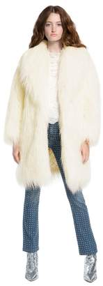 Alice + Olivia Yetta Faux Fur Coat