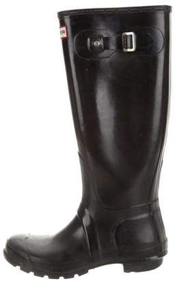 Hunter Rubberized Knee-High Boots