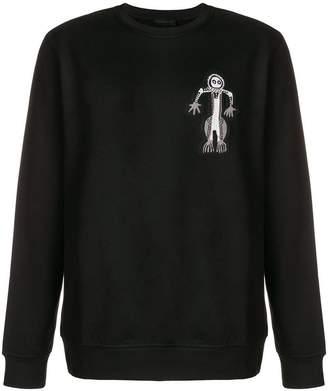 Diesel Black Gold skeleton sweatshirt