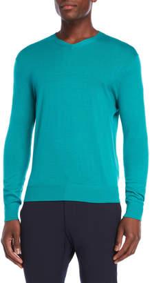 Br.Uno Ferraro Micro Merino V-Neck Sweater