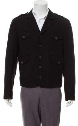 Marc Jacobs Virgin Wool Notch-Lapel Jacket