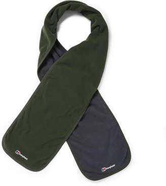 Berghaus Men's Micro Scarf - Dark Green/Dark Grey
