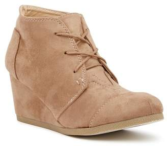 Chloé Chase & Spencer Wedge Bootie