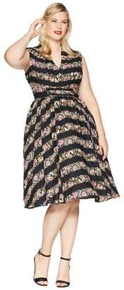 Unique Vintage Plus Size De Carlo Swing Dress Women's Dress