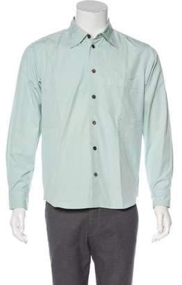 Issey Miyake Woven Button-Up Shirt