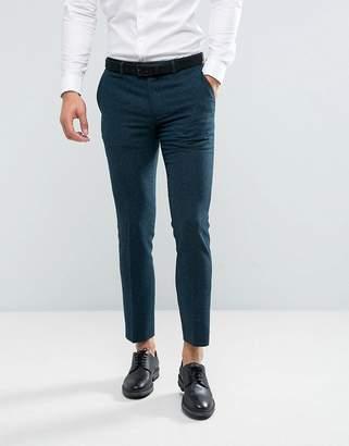 Farah Skinny Pants In Hopsack