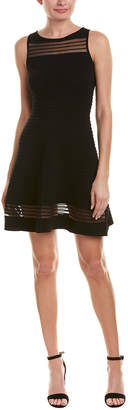 French Connection Textured A-Line Dress