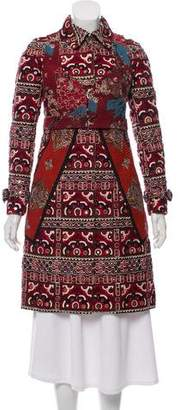 Burberry Embroidered Embellished Coat