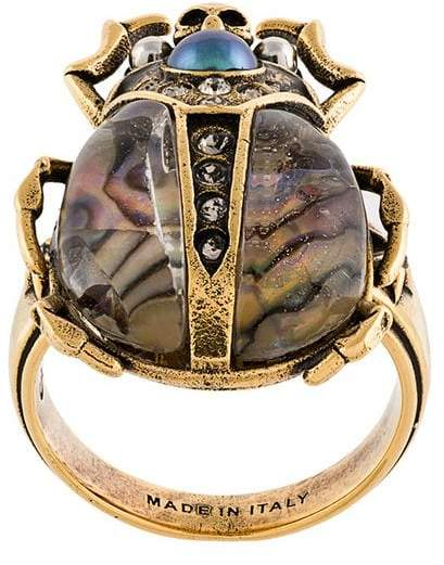 bug plaque ring