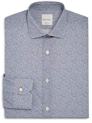 Paul Smith Micro Floral Slim Fit Dress Shirt