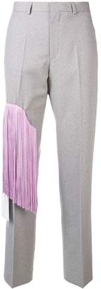 Each X Other fringed colourblock trousers