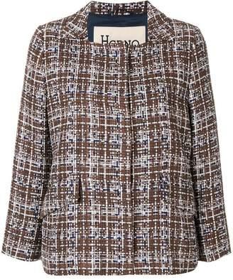 Herno cropped tweed jacket