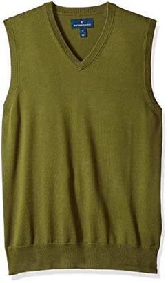 Buttoned Down Men's Supima Cotton Lightweight Sweater Vest