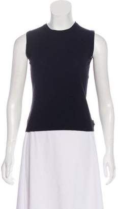 Burberry Sleeveless Knit Top