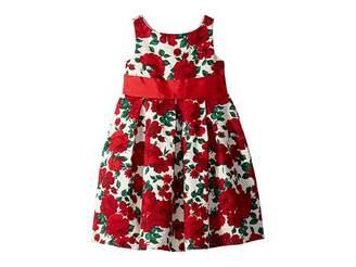 Janie and Jack Floral Sash Dress (Toddler/Little Kids/Big Kids)