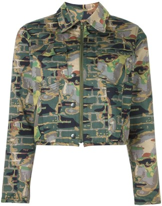Jean Paul Gaultier Pre-Owned camouflage jacket