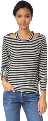 LNA Bolero Cutout Sweater $119 thestylecure.com