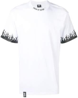 Vision Of Super Flames print T-shirt