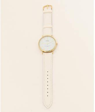 anySiS (エニィスィス) - any SiS フェイクレザーミニマル ウォッチ(時計)
