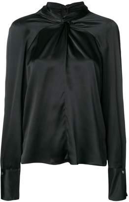 3.1 Phillip Lim Silk twist-front blouse