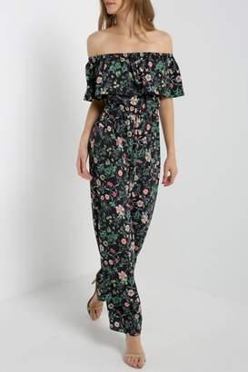 Soprano Floral Jumpsuit