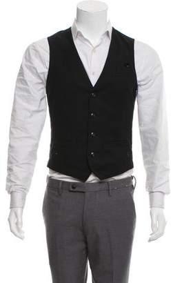 G Star Woven Suit Vest