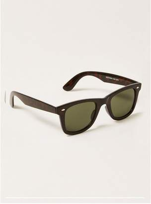 Topman Mens Brown Dark Tortoisehell 50's Sunglasses