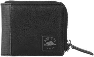 Roots 73 Slim RFID Three-Quarter Zip Wallet