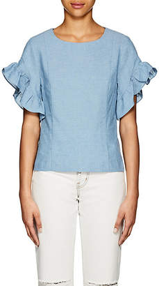 Barneys New York WOMEN'S RUFFLE COTTON