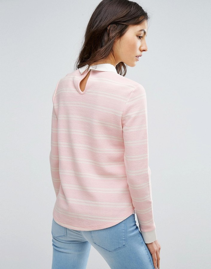 Only Shirt Detail Jumper