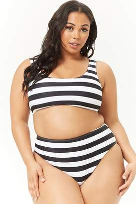 e8fcc8bc48 Forever 21 White Plus Size Swimsuits - ShopStyle Canada