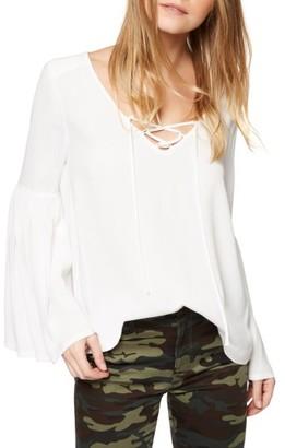 Women's Sanctuary Lila Bell Sleeve Top $89 thestylecure.com