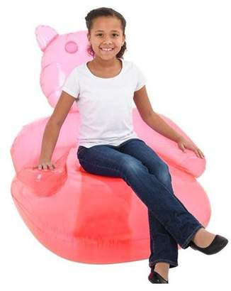 """DollarItemDirect 47"""" X36"""" RED GUMMY BEAR CHAIR INFLATE, Case of 12"""