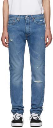 Levi's Levis Blue 510 Filiforme Skinny-Fit Jeans