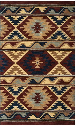 Rizzy Home Angela Southwest Collection Geometric Rug