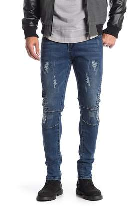 "TR Premium Slim Fit Stretch Washed Denim Jeans - 30-32\"" Inseam"