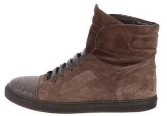 Brunello Cucinelli Monili Cap-Toe Sneakers