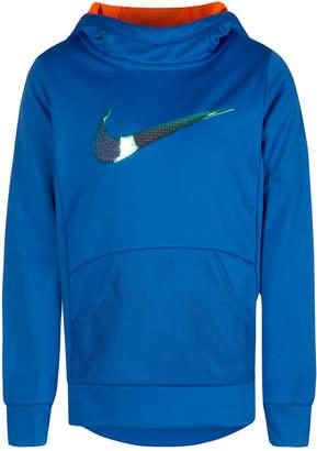 Nike Toddler Girls Therma-fit Logo-Print Tunic Hoodie