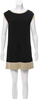 Gucci Metallic-Accented Mini Dress