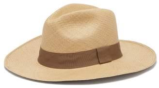 Guanabana - Wide Brimmed Straw Panama Hat - Mens