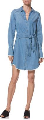 Paige Clemence Chambray Shirtdress