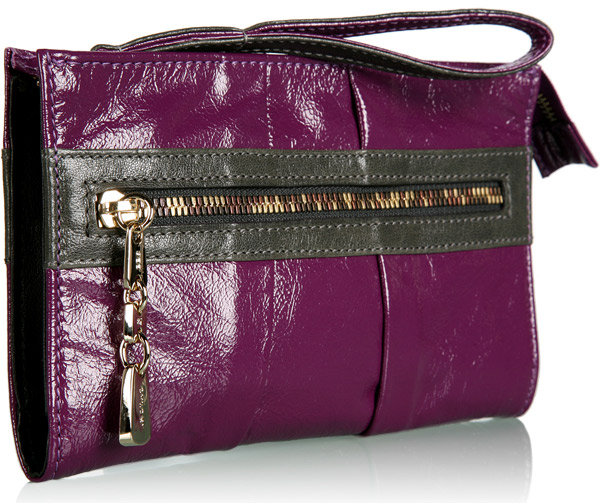 Purple Day Tripper Clutch by See by Chloe