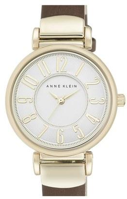 Women's Anne Klein Leather Strap Watch, 30Mm $65 thestylecure.com